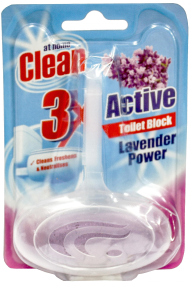 At Home - Toiletblok Lavender Power 40gr