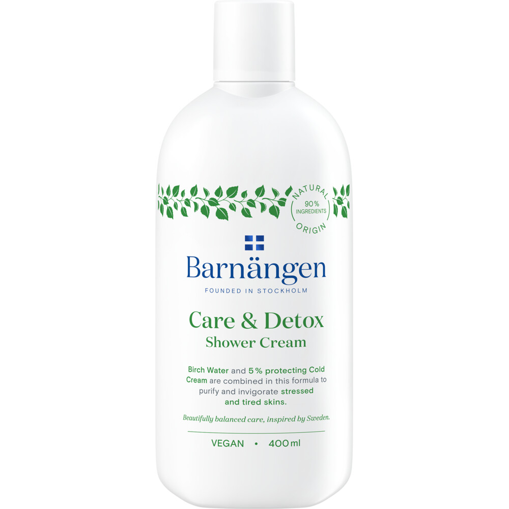 Barnangen Douchegel Detox 400 ml