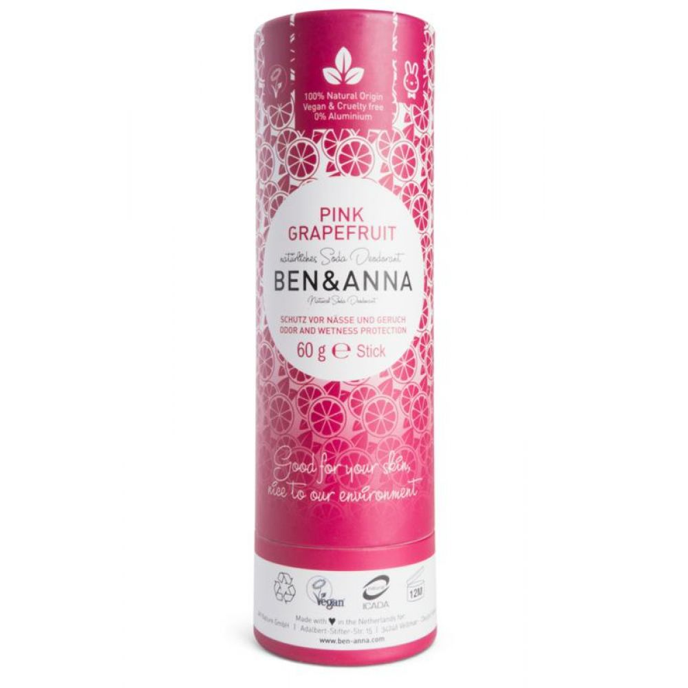 Ben&Anna Deodorant Push Up Pink Grapefruit 60 gram