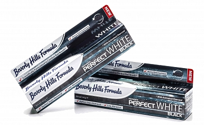 Beverly Hills Formula Tandpasta Perfect White Black