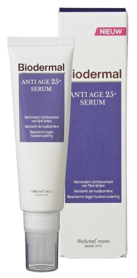 Biodermal Serum - Anti Age 25+ - 30 ml