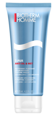 Biotherm Homme T-Pur No Oil en Wet Reiniging 125 ml