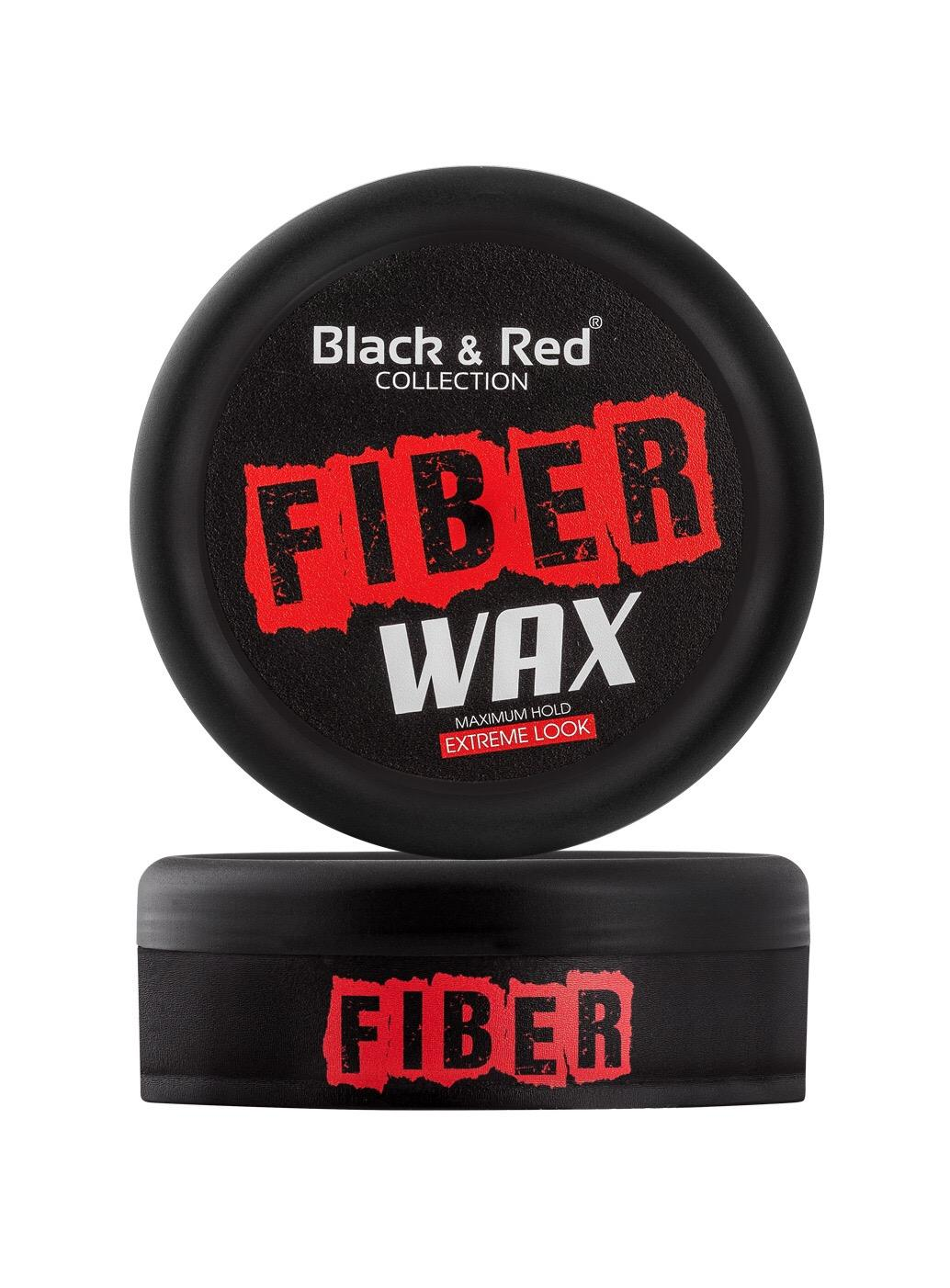 Black & Red Wax - Fiber Maximum Hold 150ml