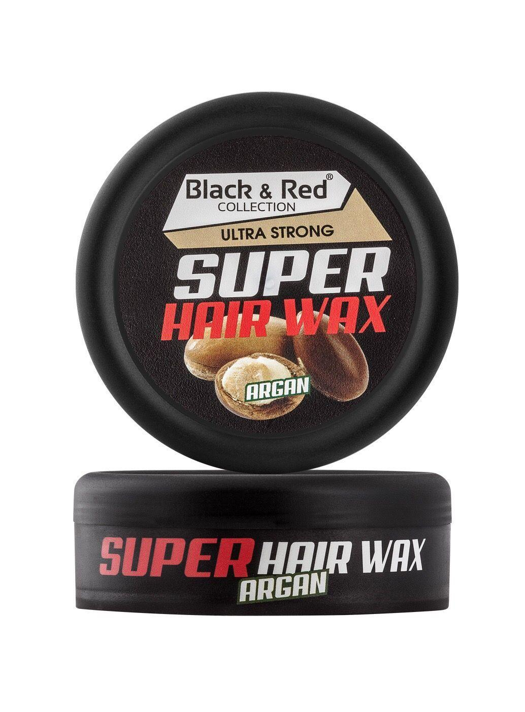 Black & Red Wax - Ultra Strong Argan 150ml