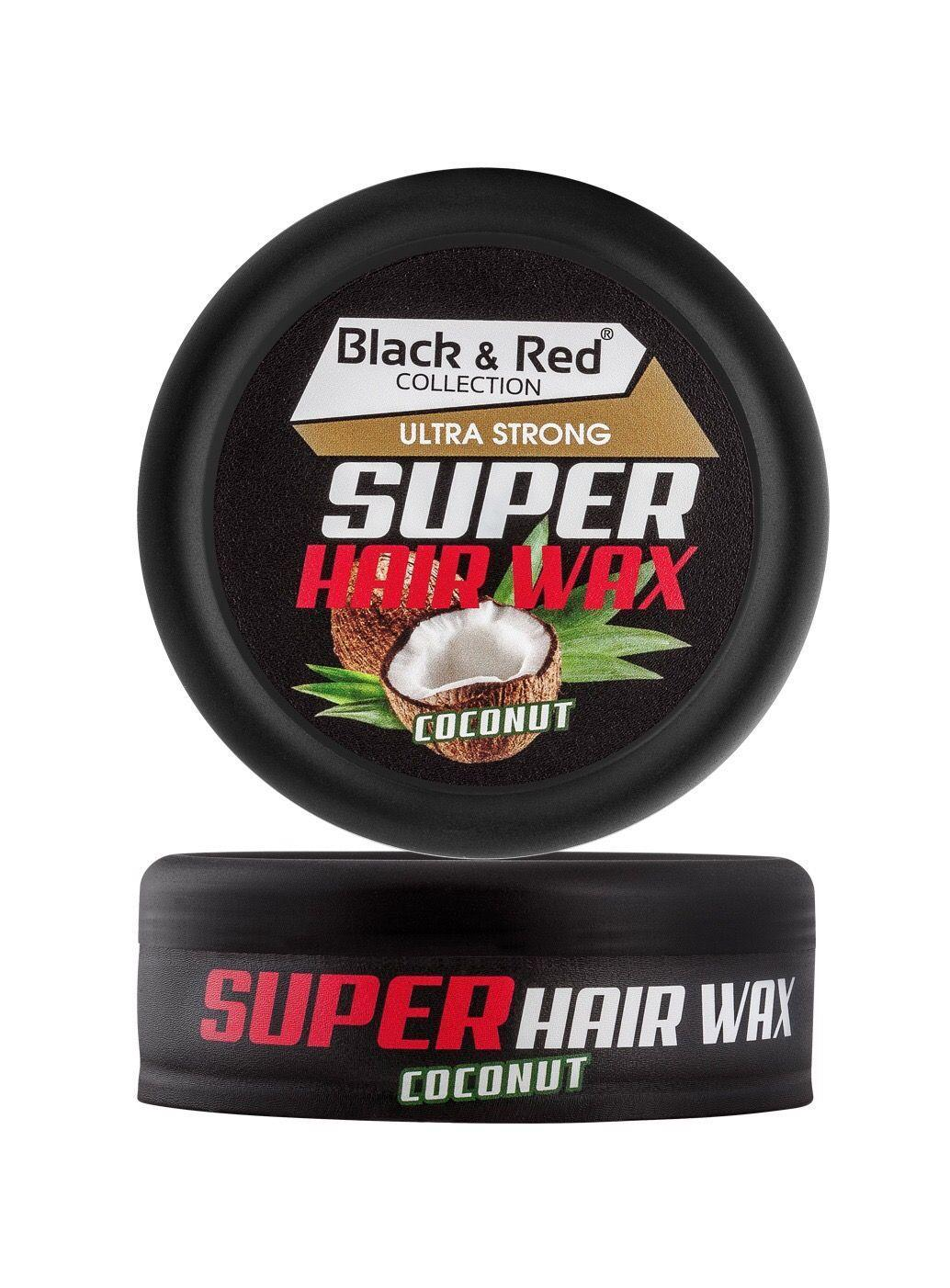 Black & Red Wax - Ultra Strong Coconut 150ml