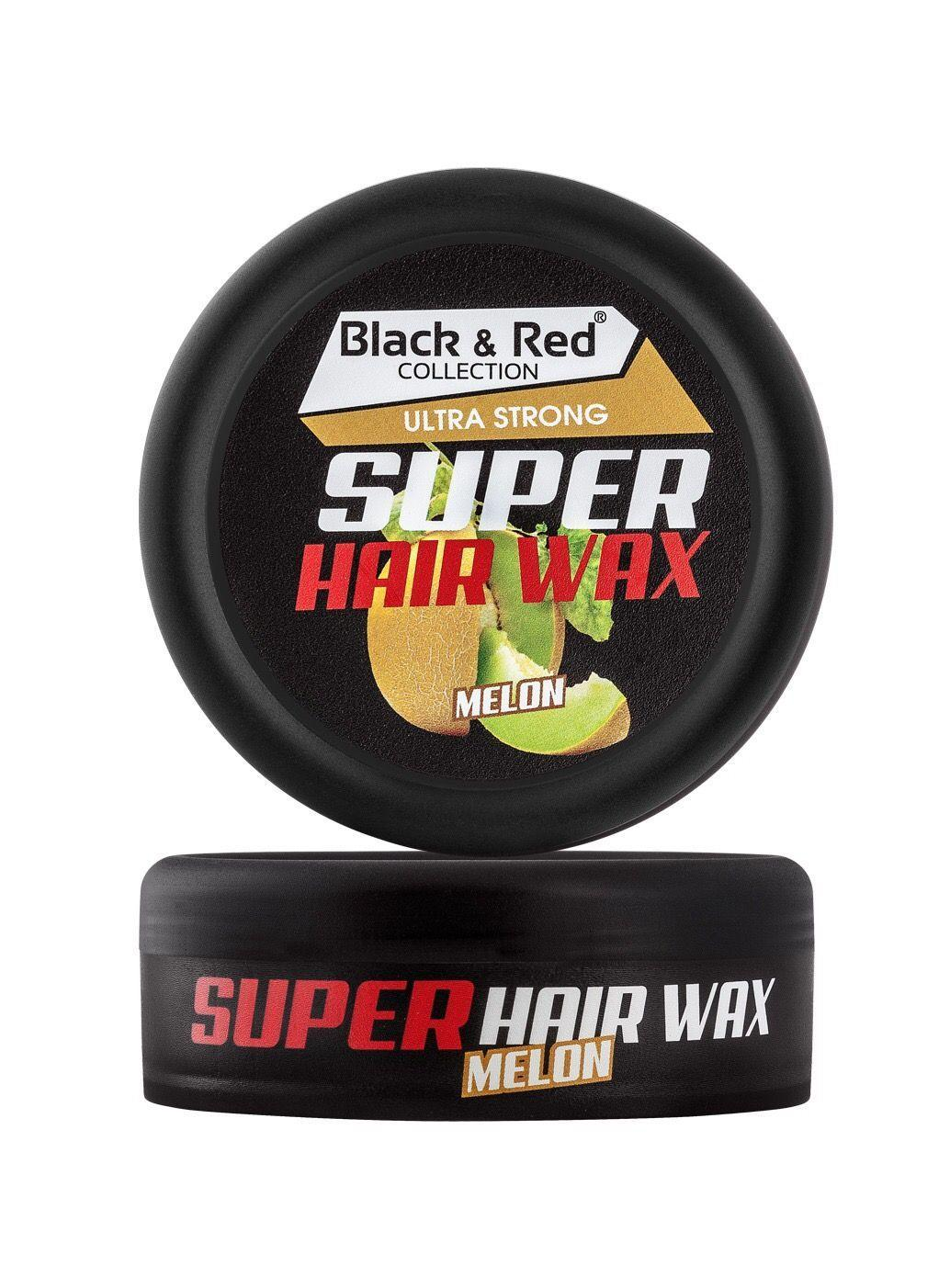 Black & Red Wax - Ultra Strong Melon 150ml