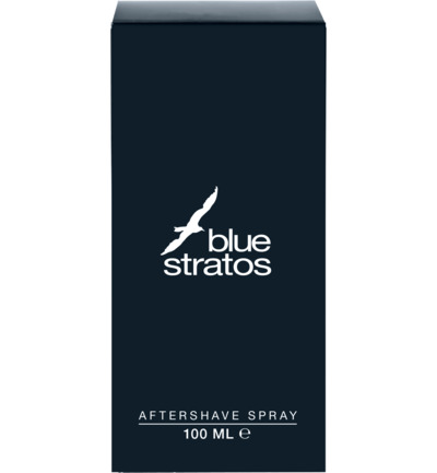 Blue Stratos Aftershave Spray (100ml)