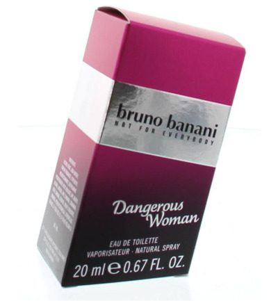 Bruno Banani Danger Woman Eau De Toilette (20ml)