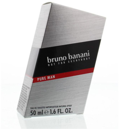 Bruno Banani Pure Man Eau De Toilette (50ml)