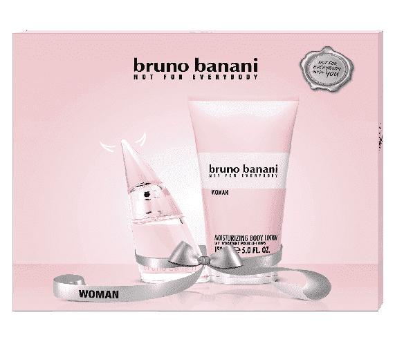 Bruno Banani Woman Giftset - Eau De Toilette 20ml + Bodylotion 150ml