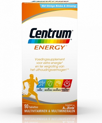 Centrum Multivitamine Energy