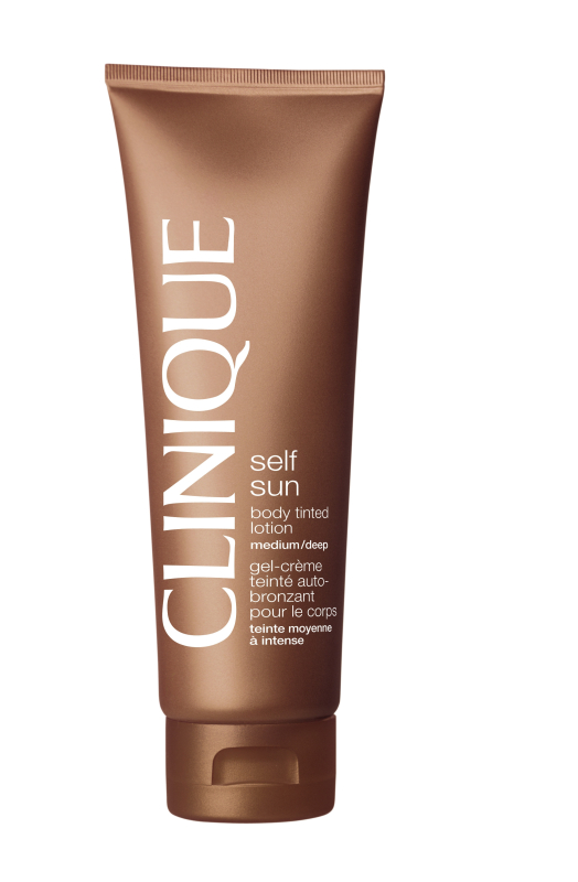 Clinique Self Sun Body Tinted Lotion Medium - Deep 125 ml