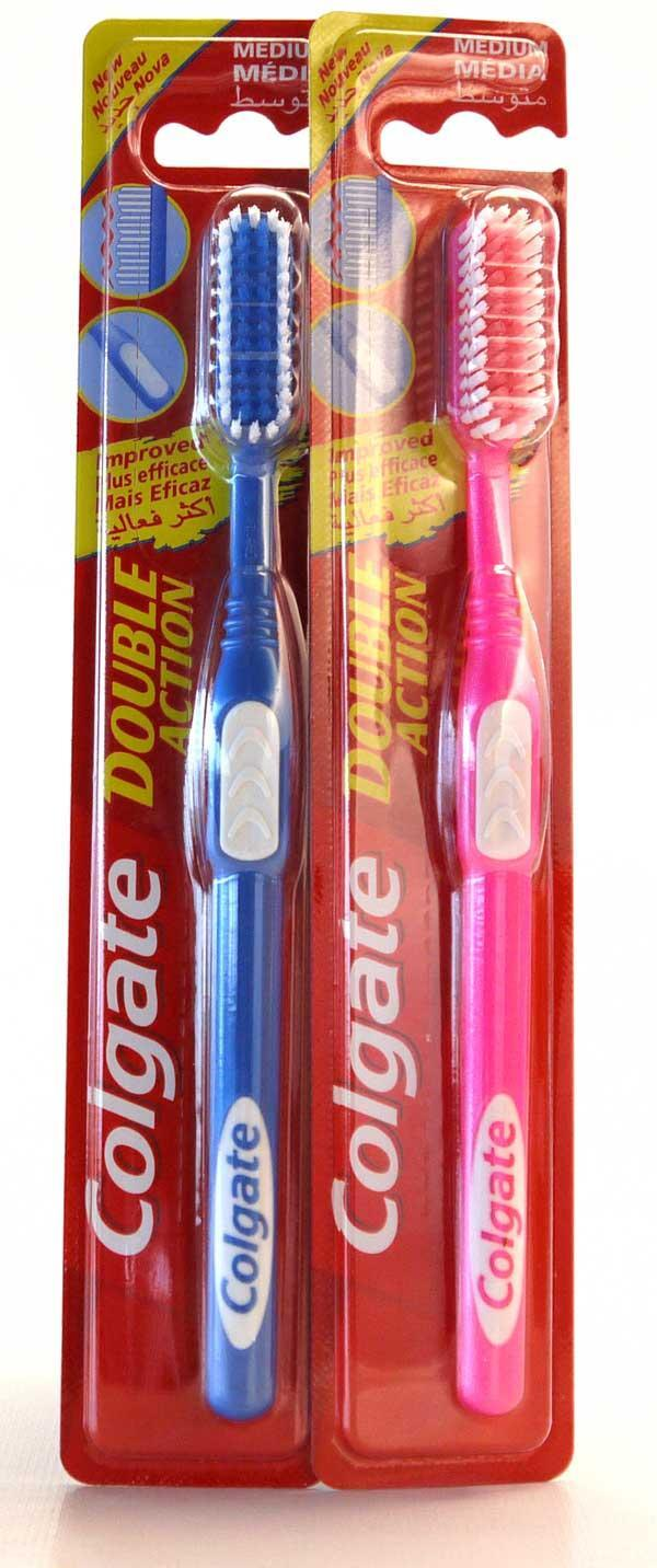 Colgate Tandenborstel Double Action Medium 1 stuk