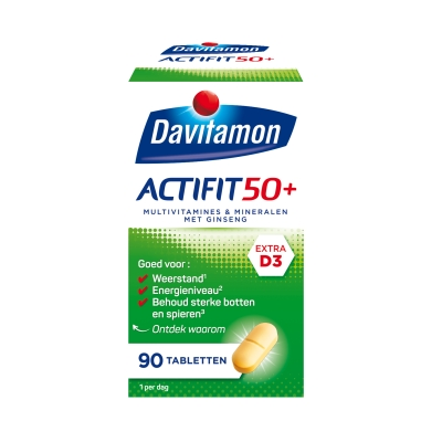 Davitamon Actifit 50 Plus Multivitamine