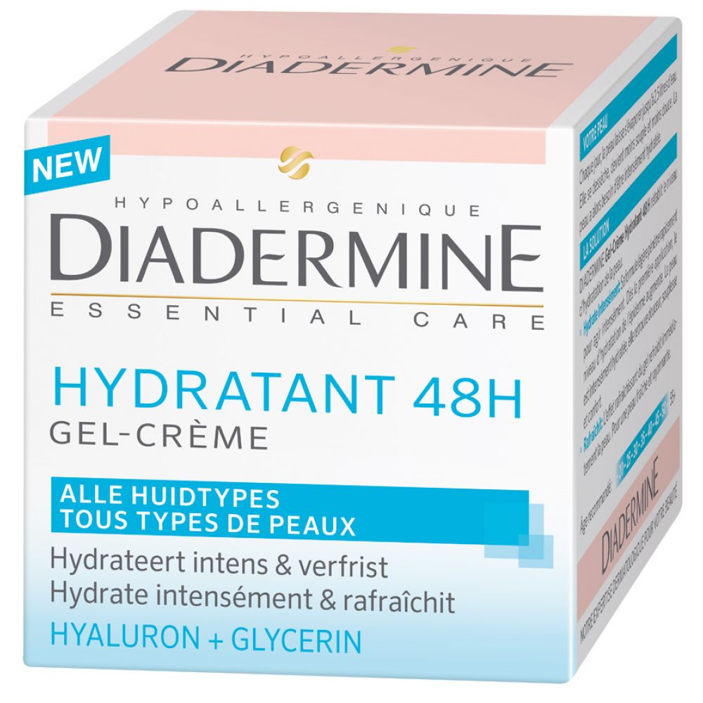 Diadermine Gelcreme Hydraterend 48H 50 ml