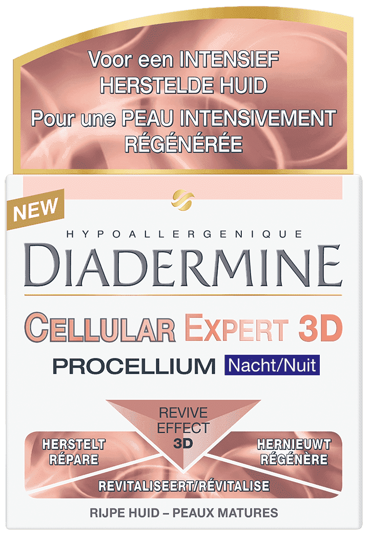 Diadermine Nachtcrème - Cellular Expert 3D 50ml