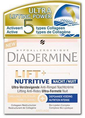 Diadermine Nachtcreme - Lift+ Nutritive 50 ml