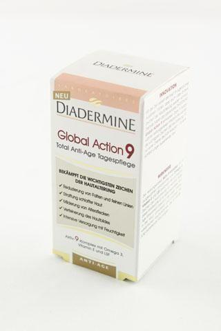 Diadermine crème 50 mL Global Action 9 anti-age dagcrème