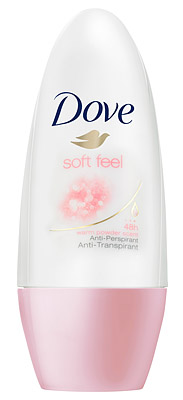 Dove Deodorant Deoroller Soft Feel Women