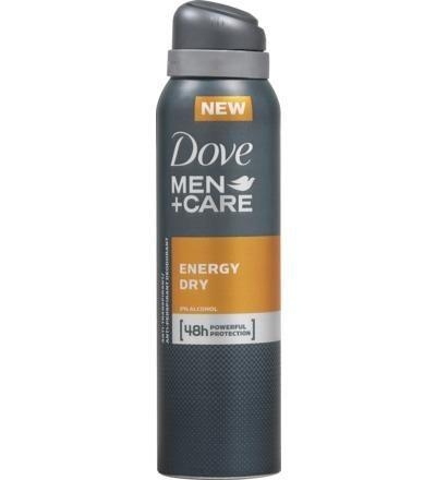 Dove Deodorant Men + Care Energy Dry 48 Uur Deospray 150ml