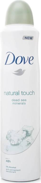 Dove Natural Touch Deodorant spray 250 mL