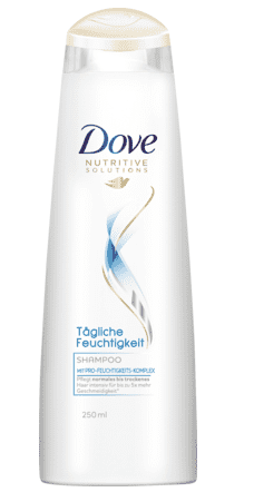 Dove Shampoo - Daily Moisture 250 ml.