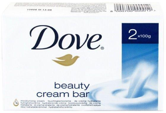 Dove Zeep -1/4 Beauty Cream Bar 2x100 gr