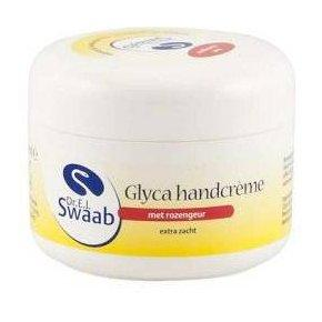 Dr. Swaab Glyca Handcreme - Rozengeur 100 ml