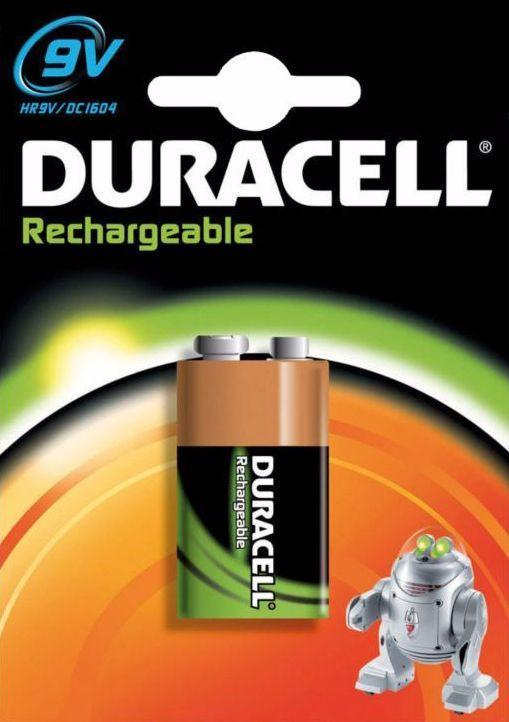 Duracell Oplaad PreCharged - 9V DC1604 1 Stuk