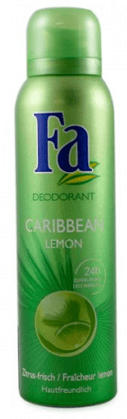 FA Deodorant Spray - Caribbean Lemon 150 ml