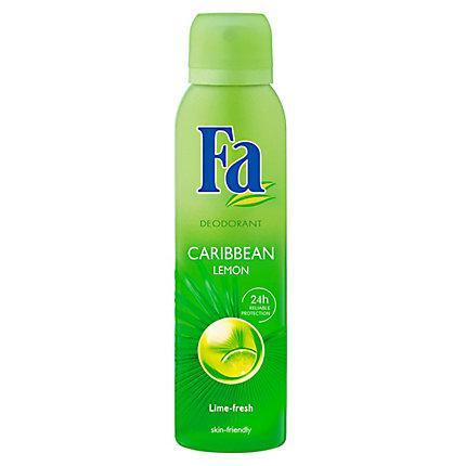 Fa Deospray Deodorant Caribbean Lemon 150 mL