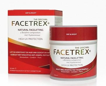 Facetrex Natural Facelifting - Anti Rimpel Crème 50 ml