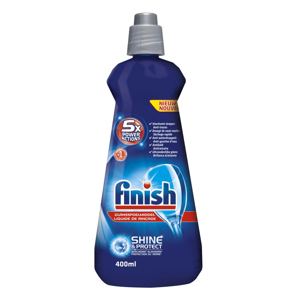 Finish Glansspoelmiddel Shine&Protect 400 ml