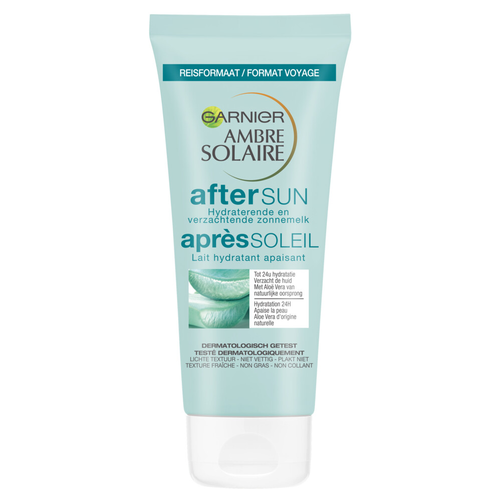 Garnier Ambre Solaire Aftersun Melk Reisformaat 100 ml