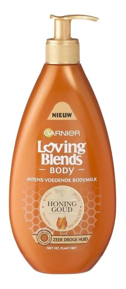 Garnier Loving Blends Body Milk - Honinggoud 400 ml
