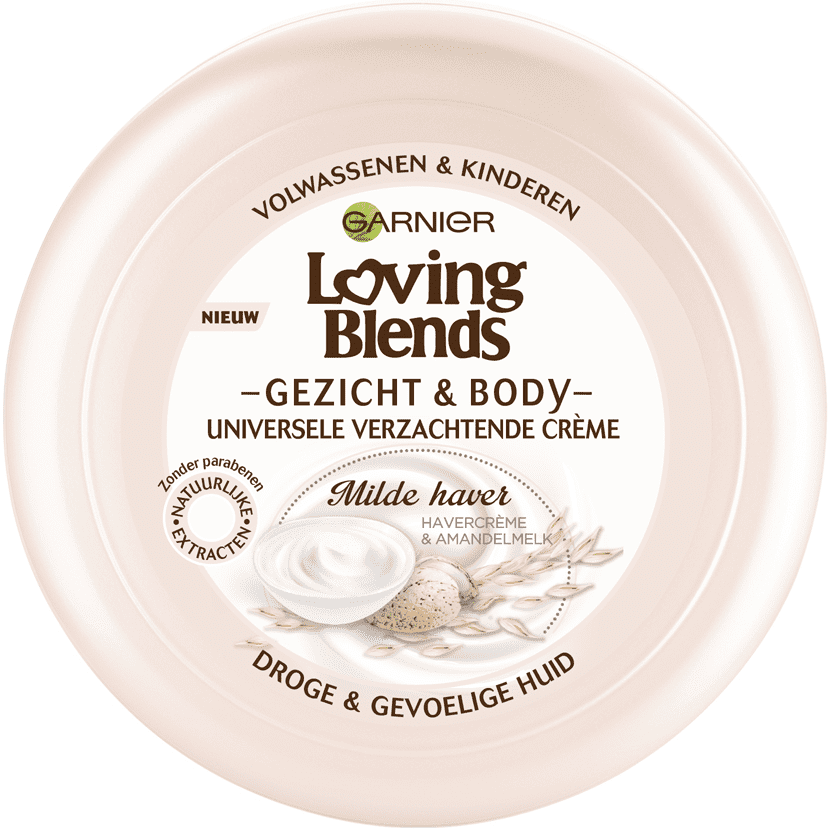 Garnier Loving Blends Bodycreme - Milde Haver 200 ml