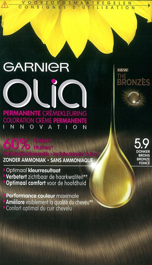 Garnier Olia Haarverf - Olia 5.3 Golden Brown