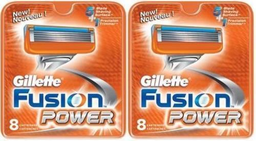 Gillette Fusion Power scheermesjes (16 st.)