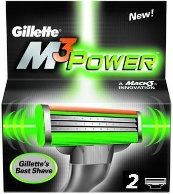 Gillette M3 power scheermesjes (2st)