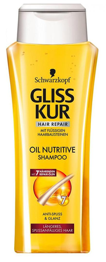 Gliss Kur Shampoo Oil Nutritive - 250ml