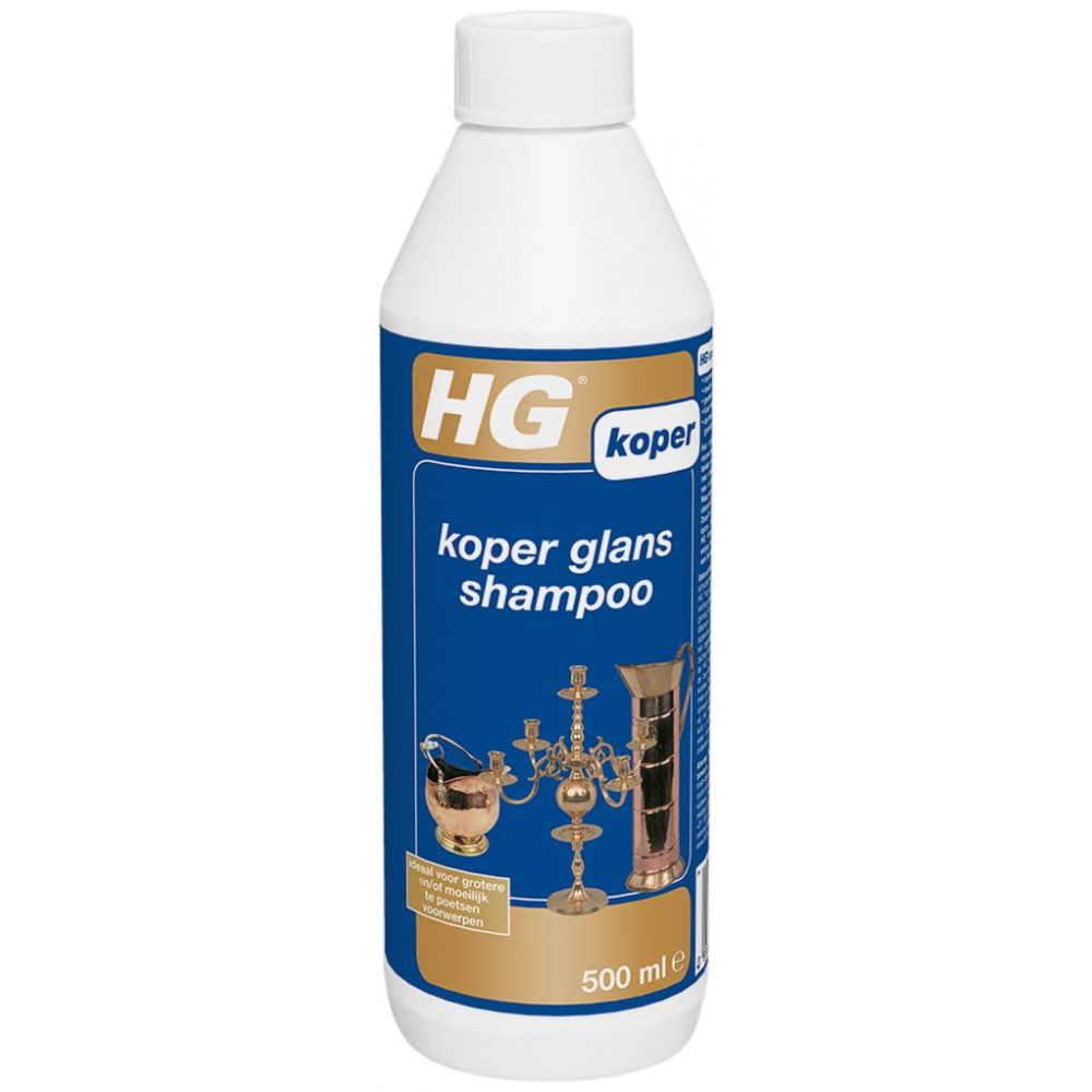 HG Koper Glans Shampoo 500 ml