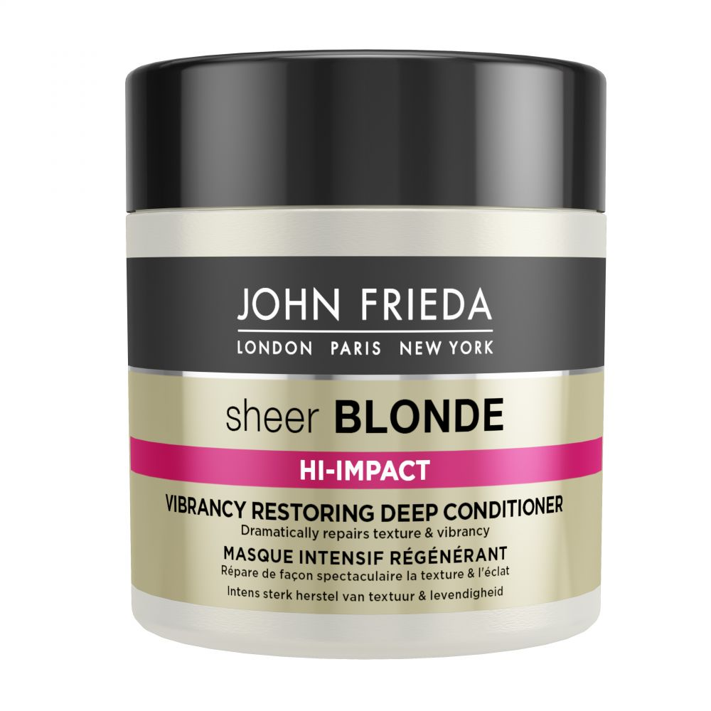 John Frieda Sheer Blonde Hi Impact Vibrancy Restoring Deep Conditioner 150 ml