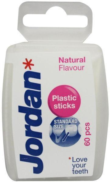 Jordan Dental Sticks - Plastic Tandenstoker 60 stuks
