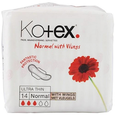 Kotex Ultra Normal Plus Met Vleugels