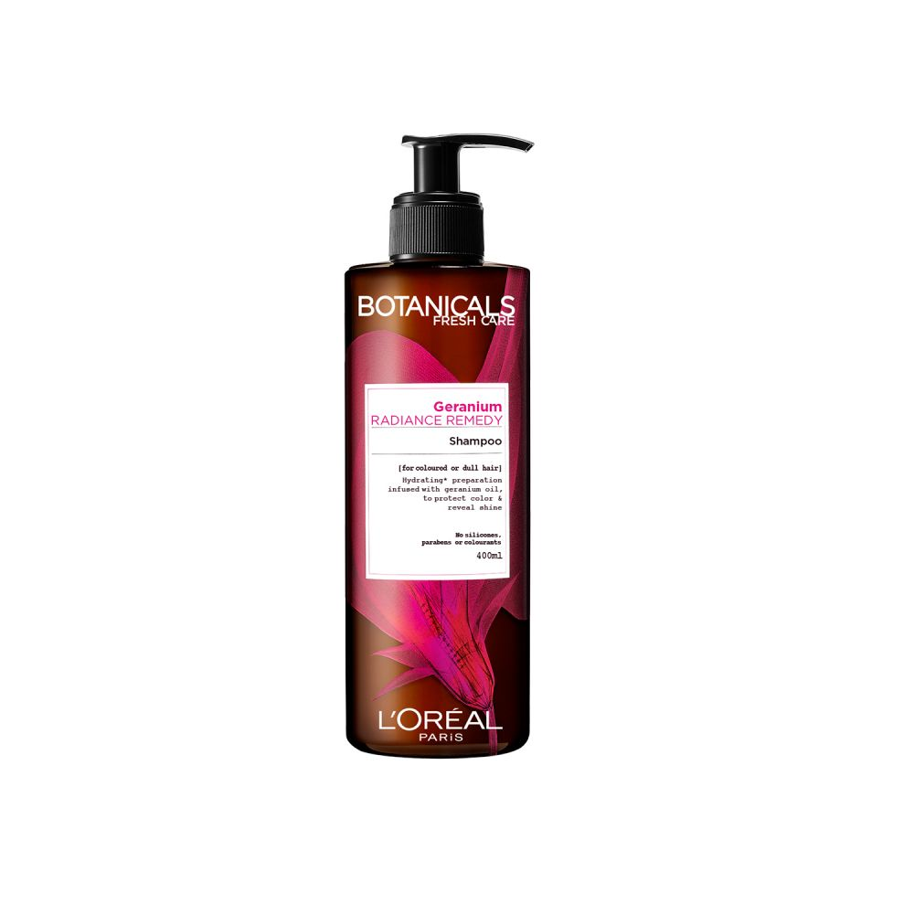 L\Oréal Botanicals Geranium Radiance Remedy Shampoo 400 ml