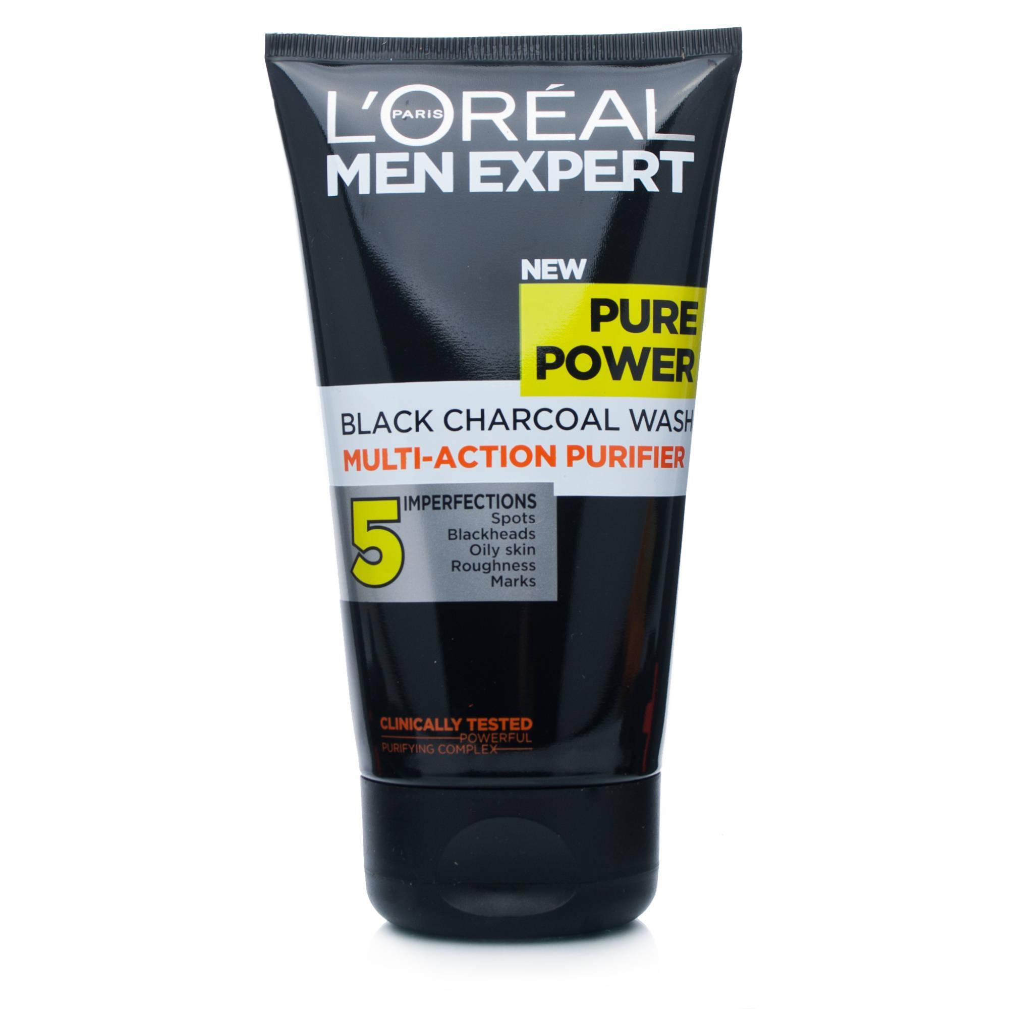 L\Oréal Men Expert Pure Power Charcoal Face Wash 150ml
