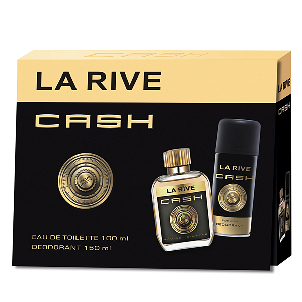 La Rive Cash For Him Eau de Toilette set 2 stuks