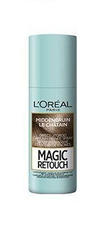 Loréal Paris Uitgroei Spray - Magic Retouch Middenbruin 75 ml
