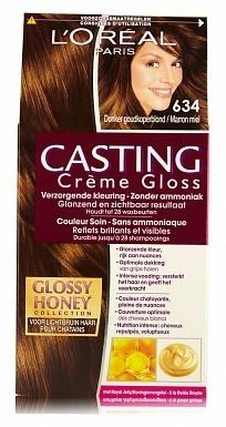 Loreal Haarverf - Casting Creme Gloss Donker Goudkoperblond 634
