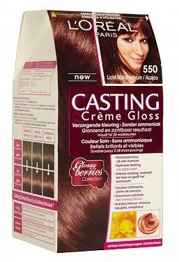 Loreal Haarverf - Casting Creme Gloss Licht Mahonie 550